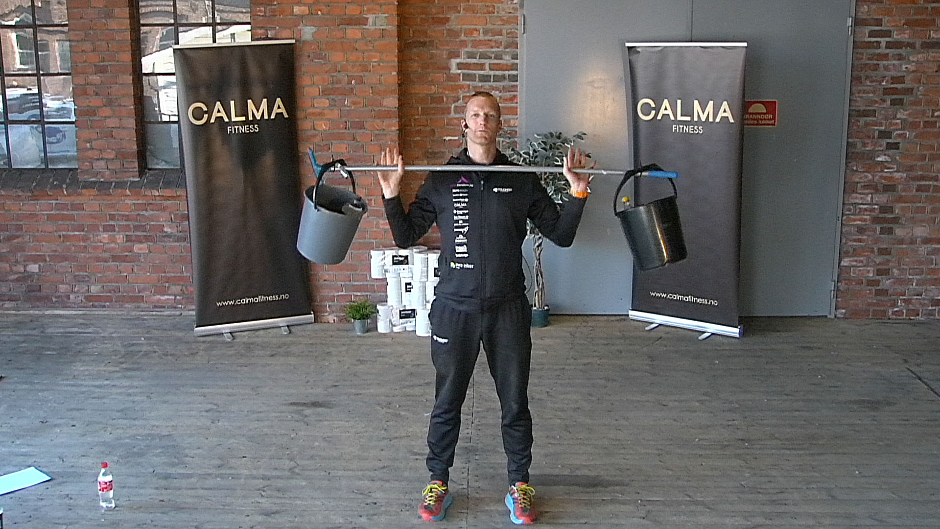 Hjemmetrening med Calma Fitness