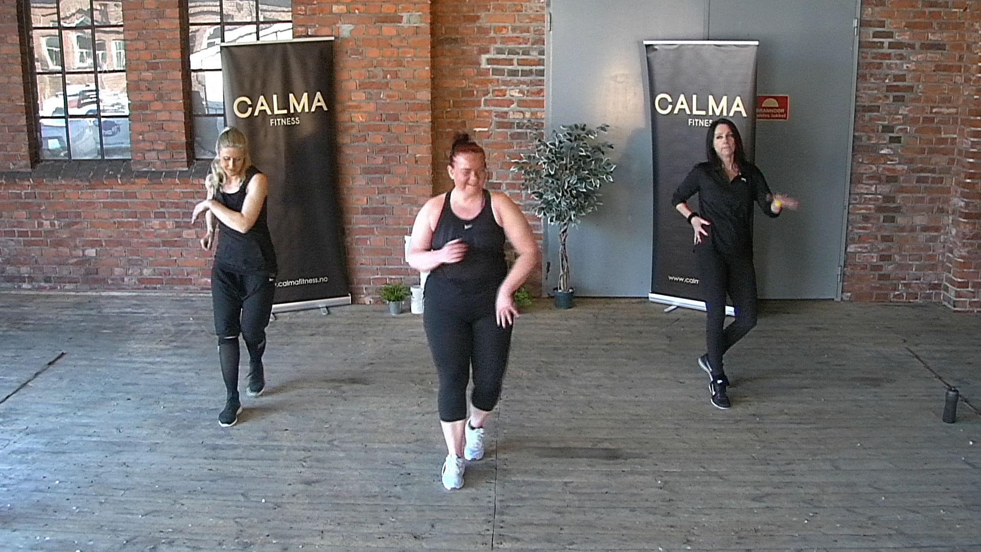 HjemmeZumba med Calma Fitness