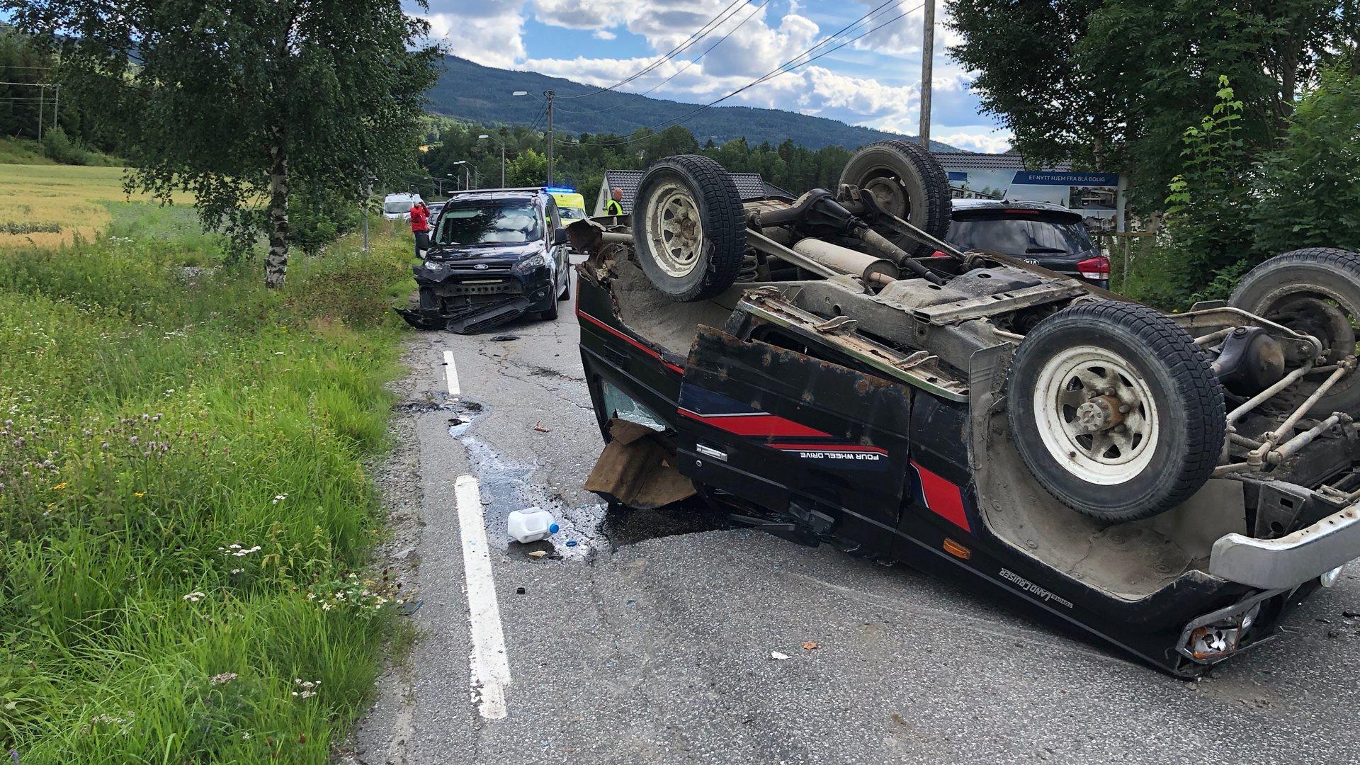 Trafikkulykke Heggenveien