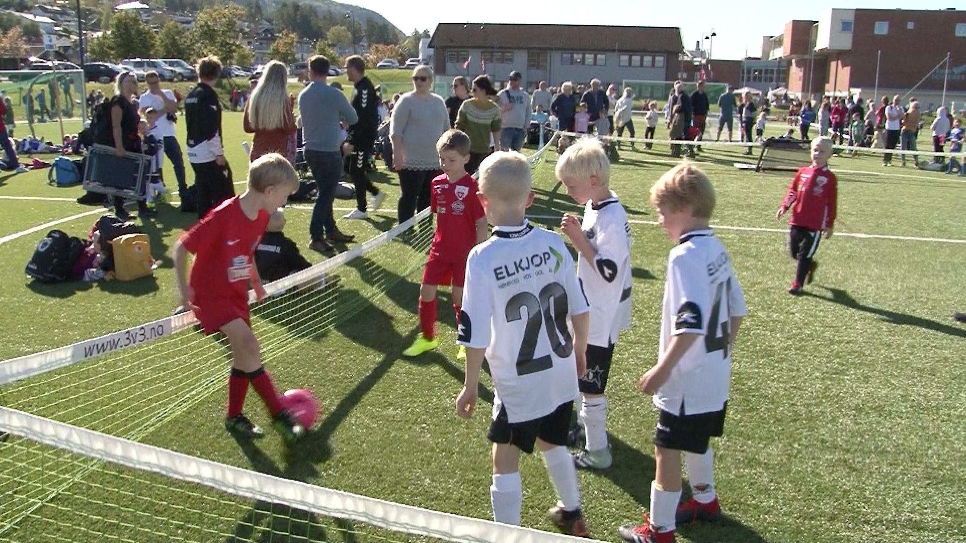 Avlyser Åmotsenter-cup i fotball