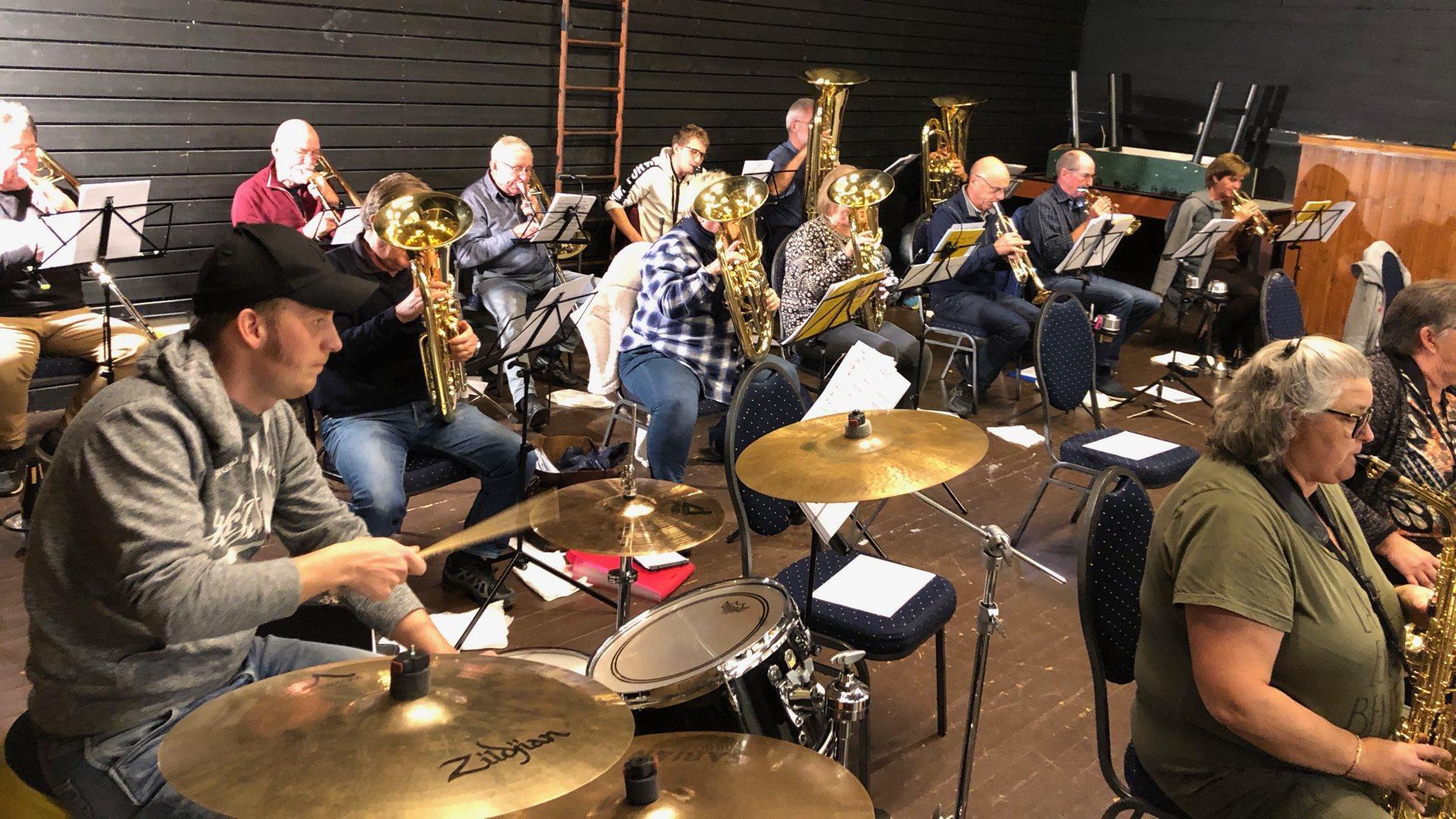 Geithus musikkorps Inviterer til jazzkonsert