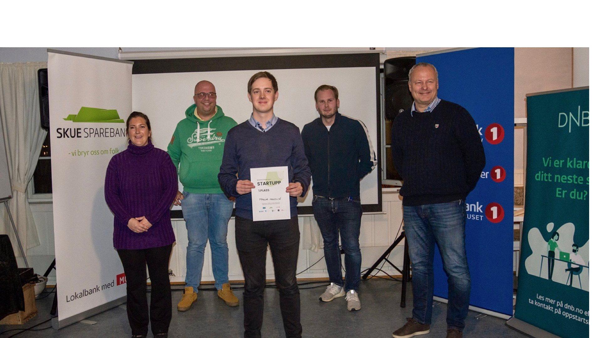 Martin vant delfinalen i Startupp