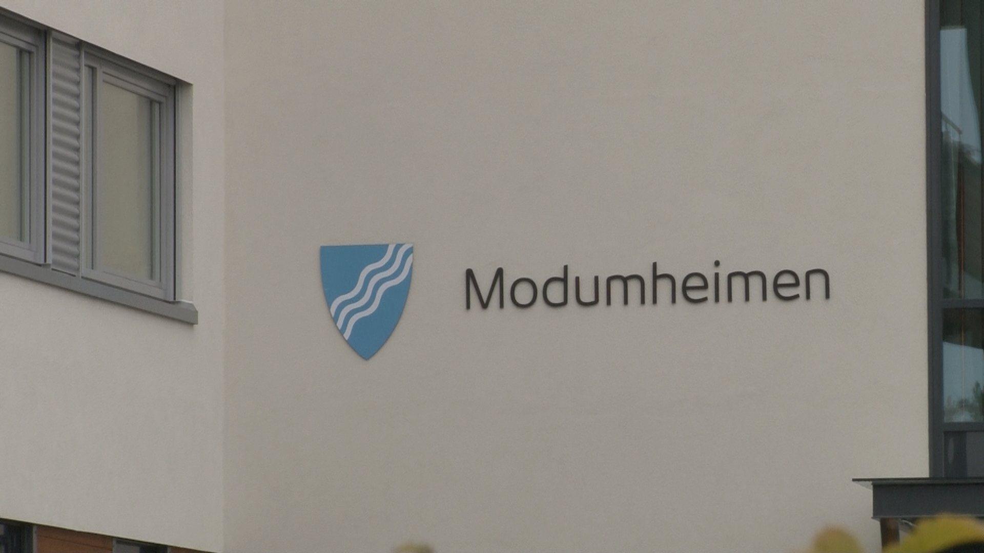 Fem smittet Ved Modumheimen