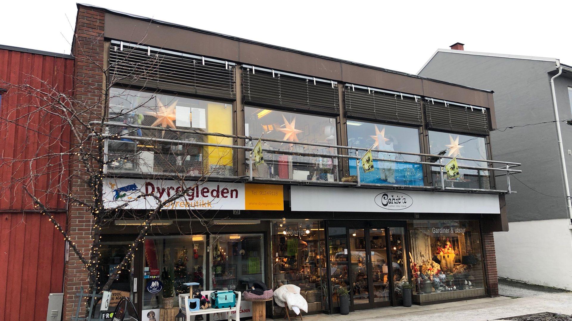 Selger forretningsbygg i Vikersundgata