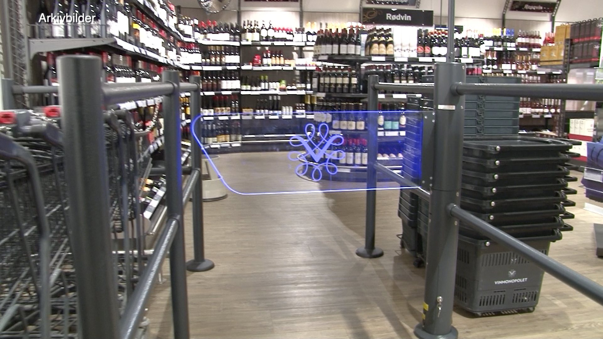 Stor salgsvekst for Vinmonopolet i vikersund