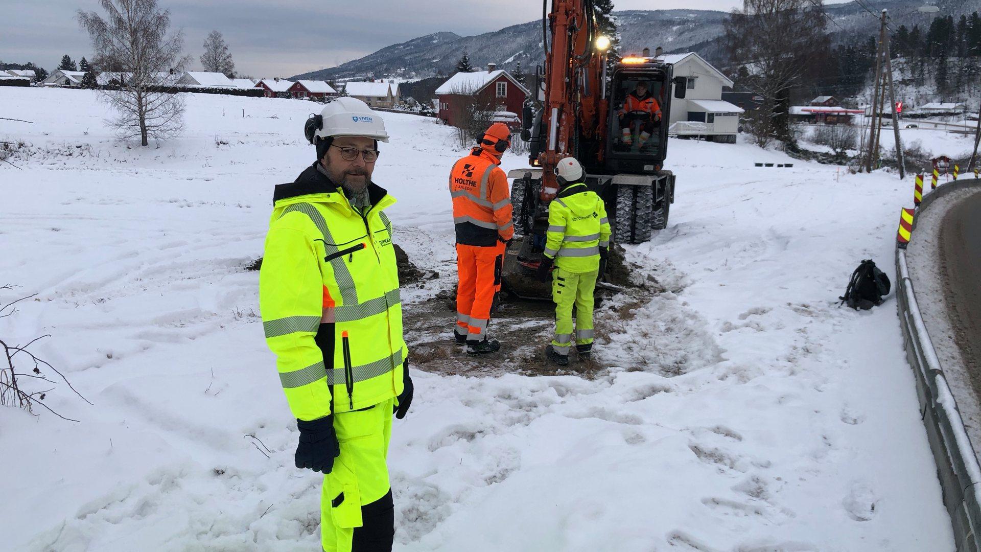 Startet bygging av ganvei fra Vassbunn til Skalstad