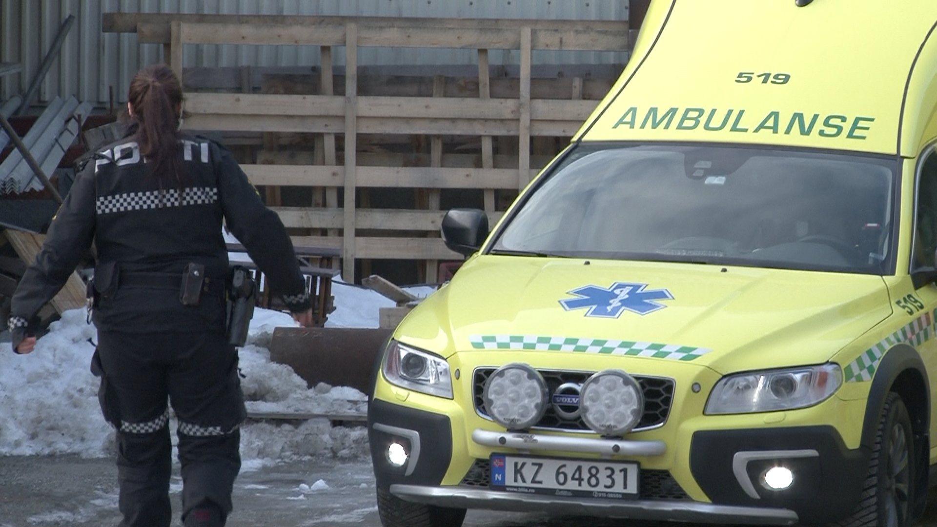 rbeidsulykke Bergan Smie