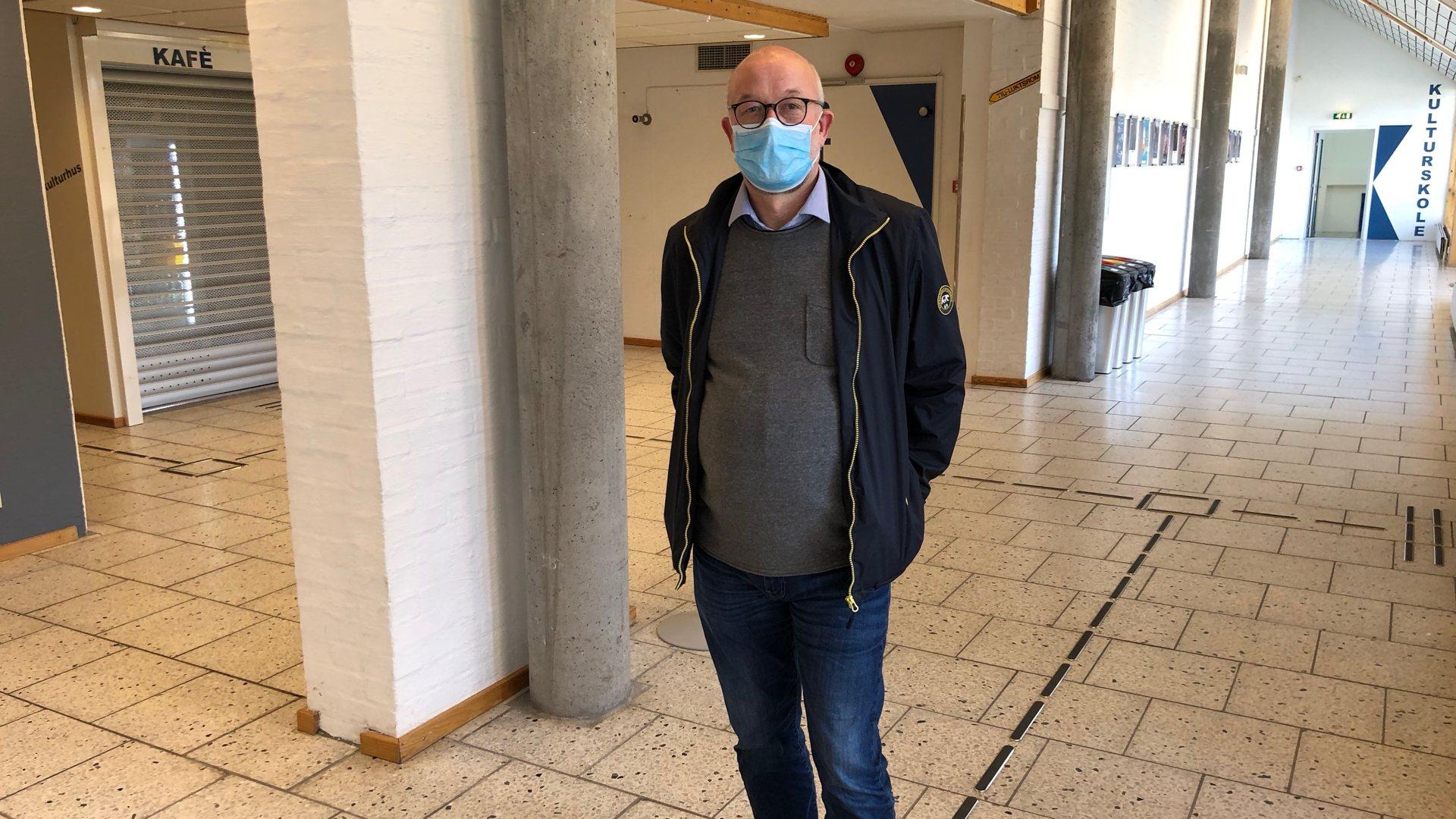 Kommuneoverlege Pål Steiran om smittesituasjonen
