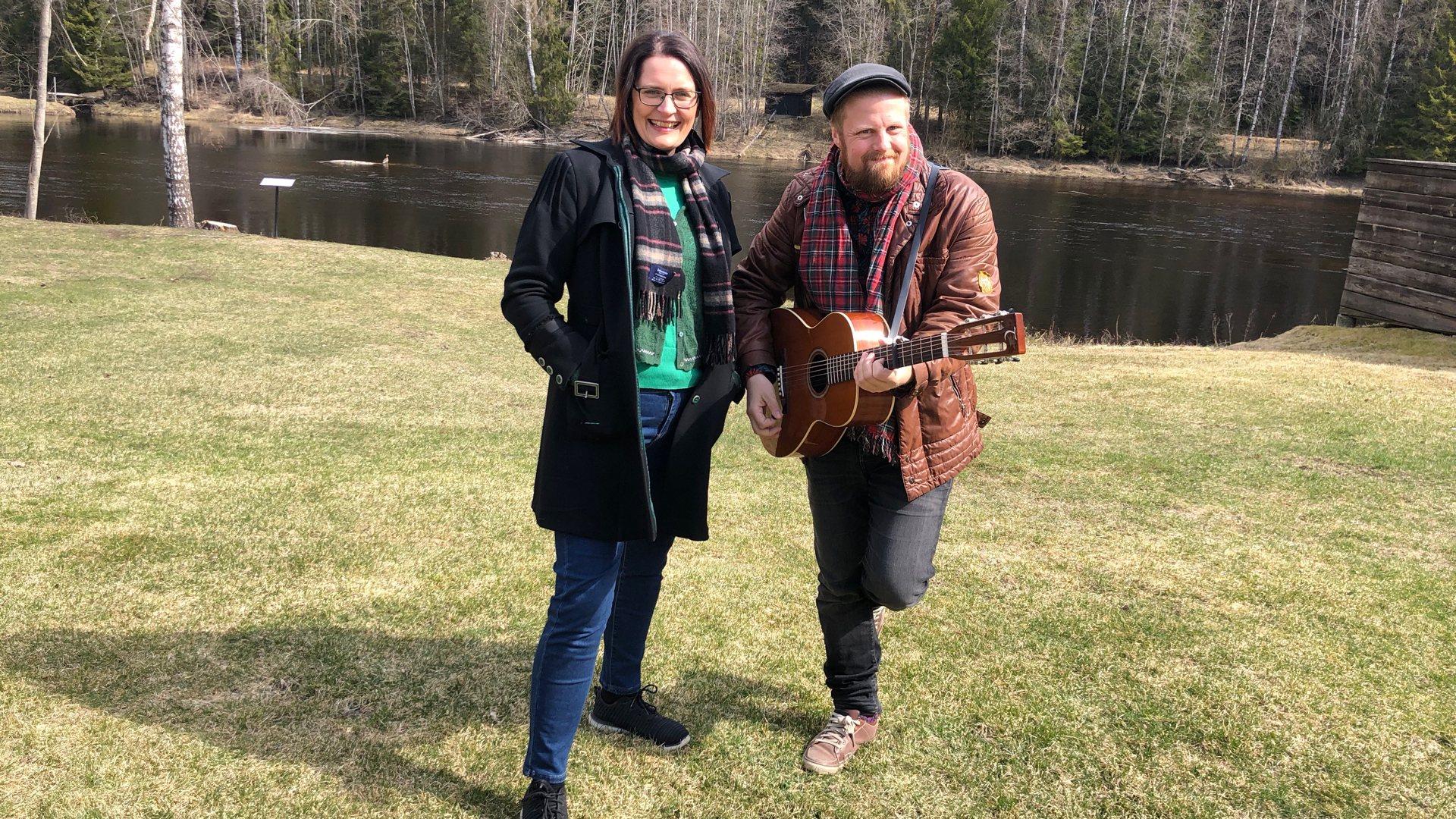 Lajla Renate og John Ole Vil spre danseglede til hele landet