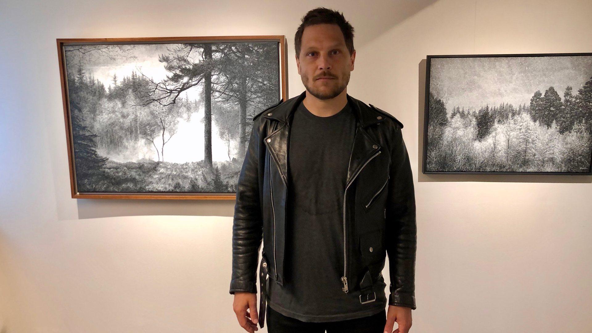 Danny Larsen er årets utstiller på Kittelsenmuseet