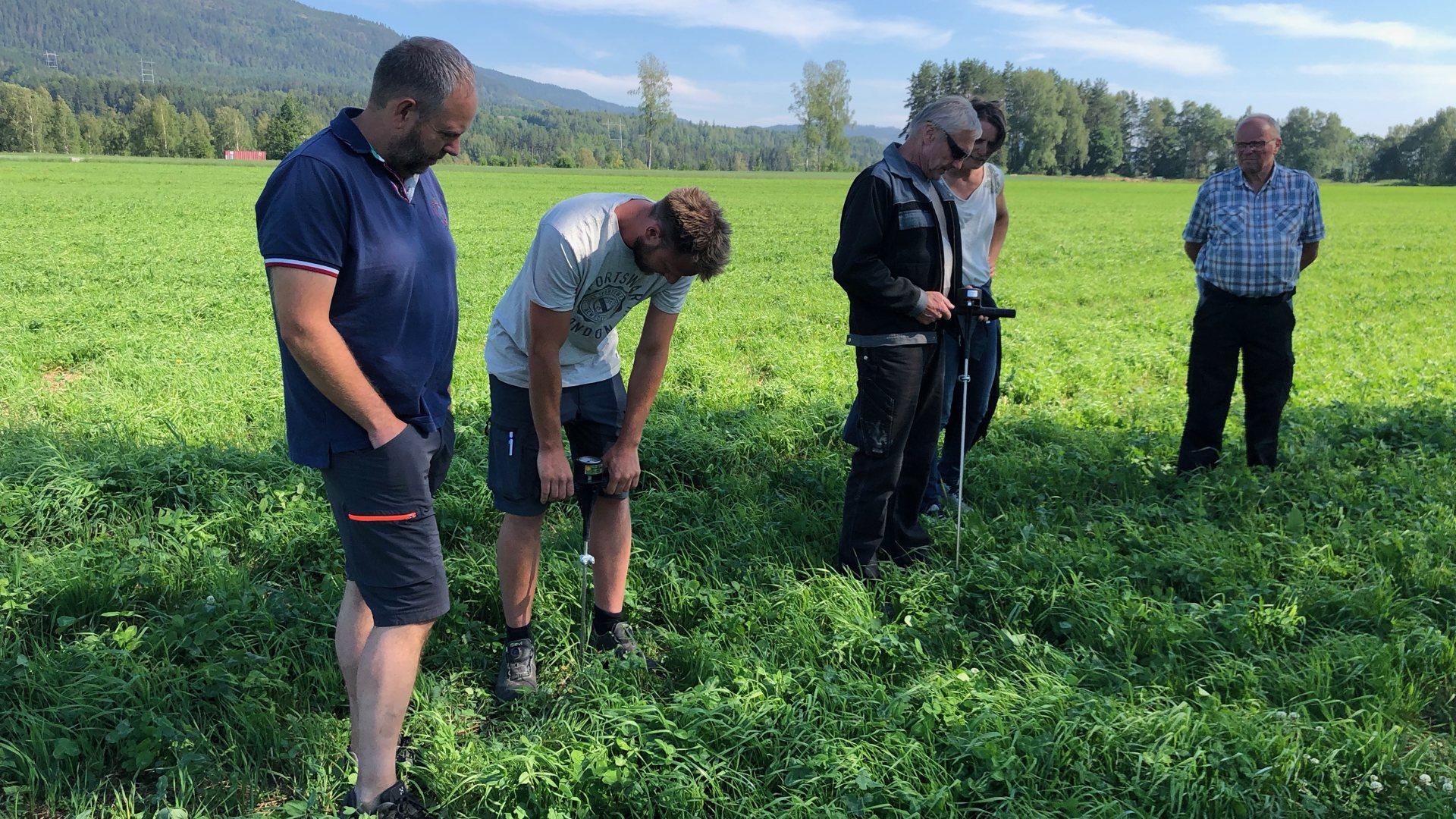 Lokale bønder med i stort forskningsprosjekt. Målet er å skape et mer bærekraftig og grønt landbruk