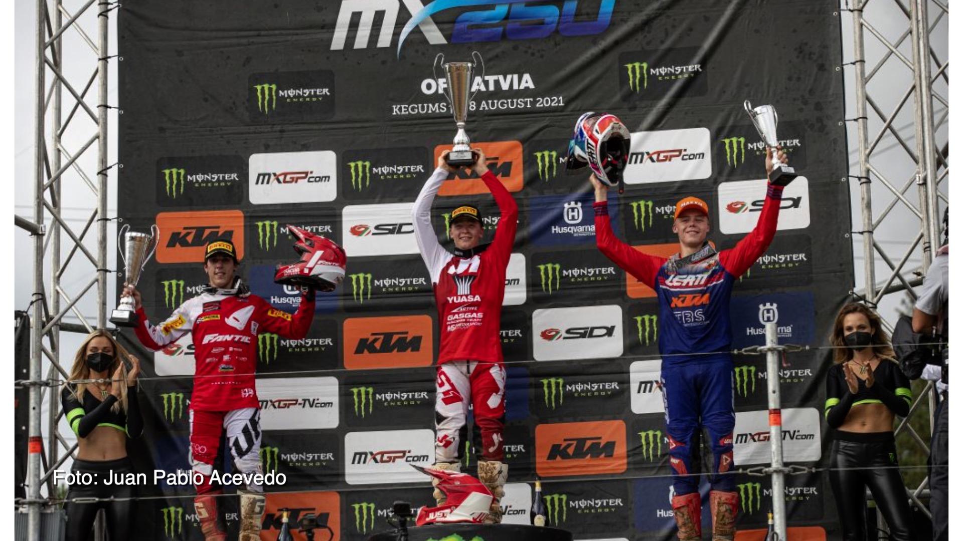 Kevin Horgmo vant EM runde i motocross