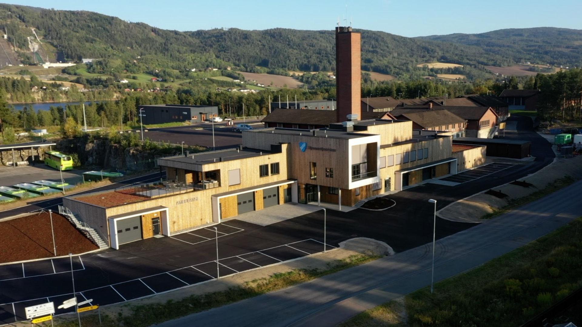 Åpnet nye Ambulanse- og Hjemmetjenestesentralen på Nedmarken