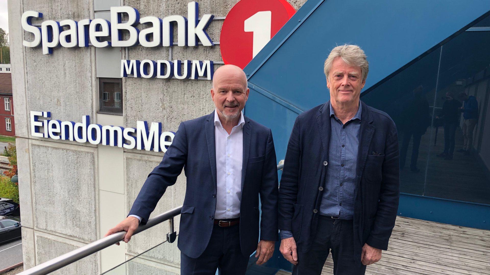 Sparebank1 Modum slår seg sammen med Sparebank1 Sørøst-Norge