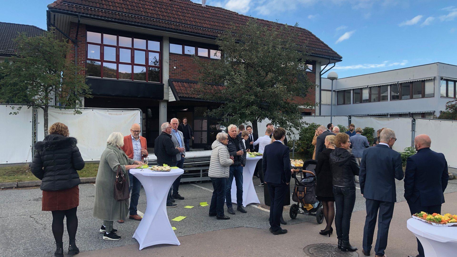 Høytidelig åpning av Spirekontorene i Vikersund